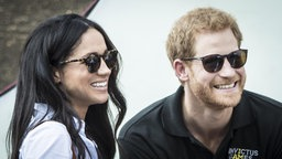 Meghan Markle und Prinz Harry in London (25. September 2017)