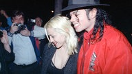 Michael Jackson und Madonna am 10. April 1991