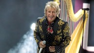 Rod Stewart live in Atlantic City (USA)