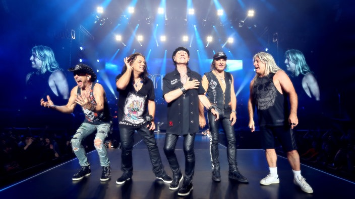 Die Scorpions live in Shangai, China (21.11.2018)