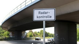 Radarkontrolle in Darmstadt