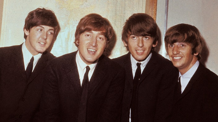 Paul McCartney, John Lennon, George Harrison und Ringo Starr