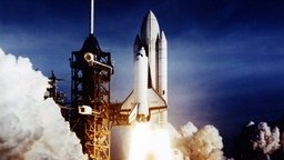 Space Shuttle Columbia bei seinem Start
