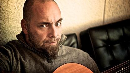 Kai Lüftner mit Gitarre, Rotz'n'Roll