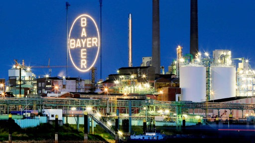 Das Bayer-Werk in Leverkusen