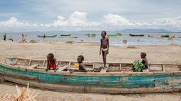 Turkana-See in Kenia