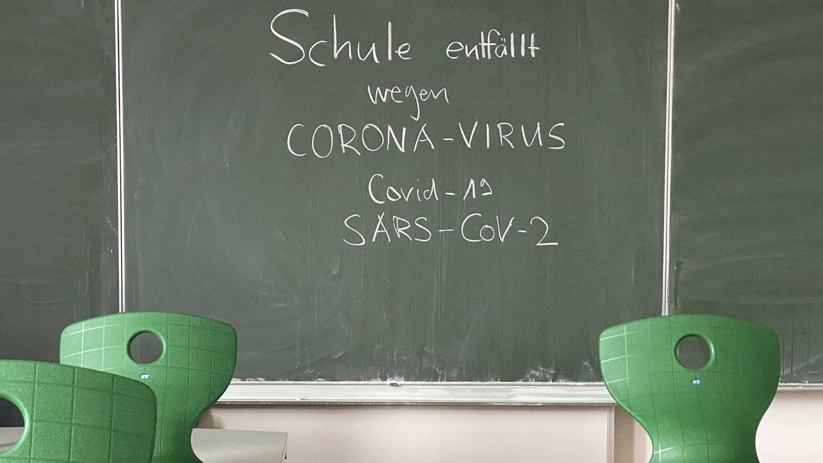 Schule und Corona: Gebauer schließt nichts mehr aus ...