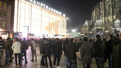 Silvester Köln Bahnhof