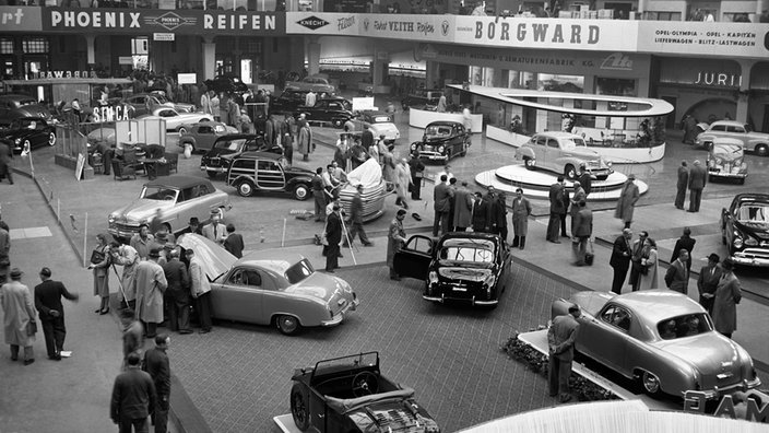 Internationale Automobilausstellung Frankfurt, 1951