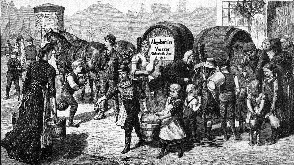 Cholera Ausbruch