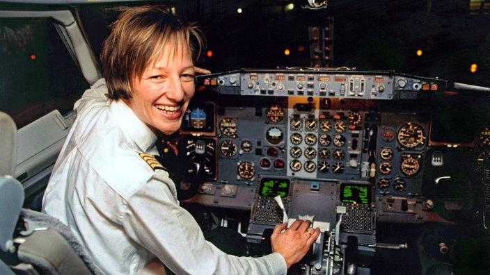 Lufthansa pilotin
