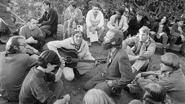 07.08.1965 - Beginn der Hippie-Bewegung, ZeitZeichen