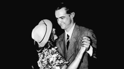 Howard Hughes und Ginger Rogers