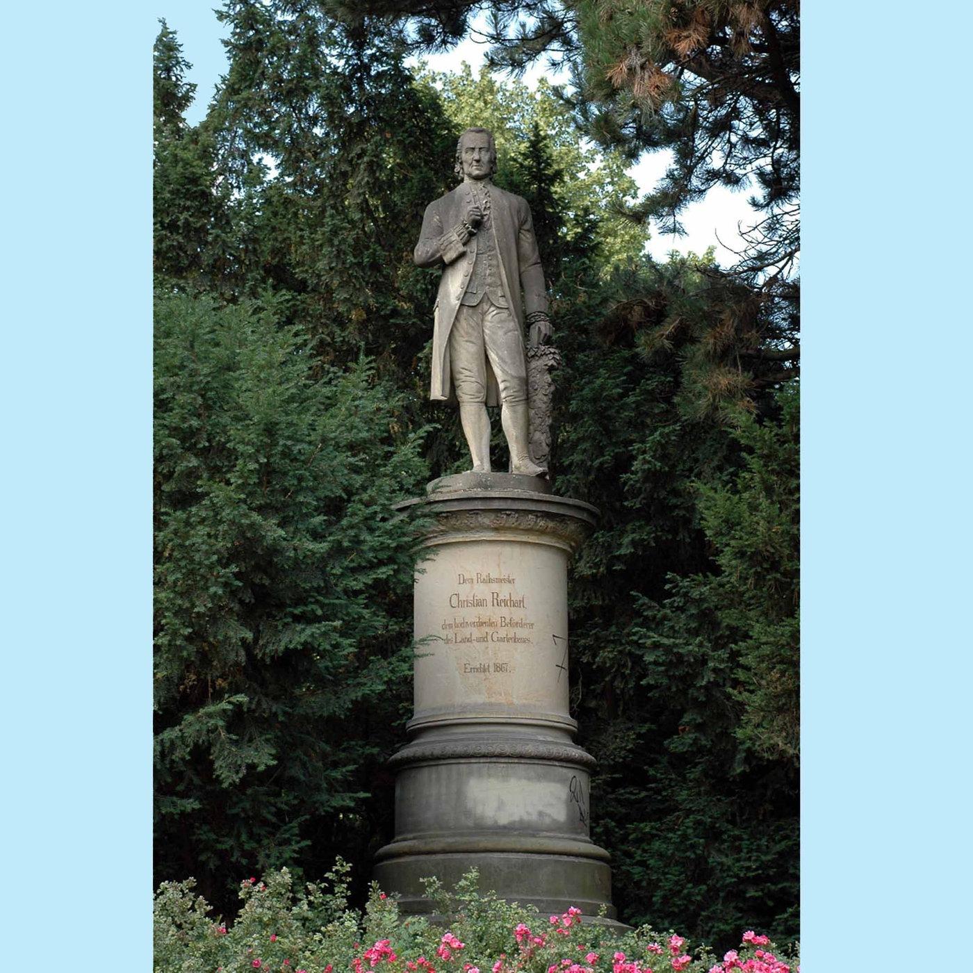 Christian Reichart, Pionier des Gartenbaus (Todestag 30.07.1775)