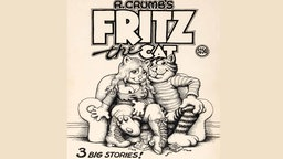 "Cover von ""Fritz the Cat""-Comic"
