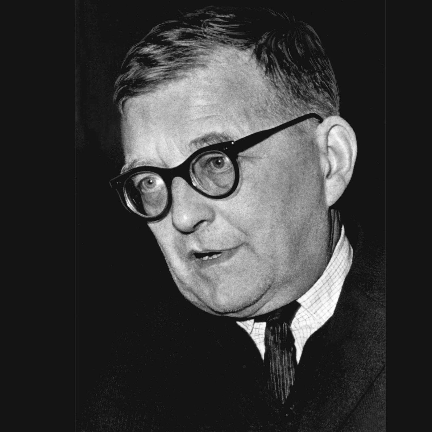 Dimitri Schostakowitsch, russ. Komponist (Todestag 09.08.1975)