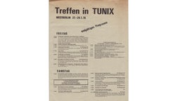 Programm des Tunix-Kongress in Berlin