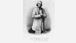 Jean Baptiste Marie Vianney, Lithographie nach Tanty