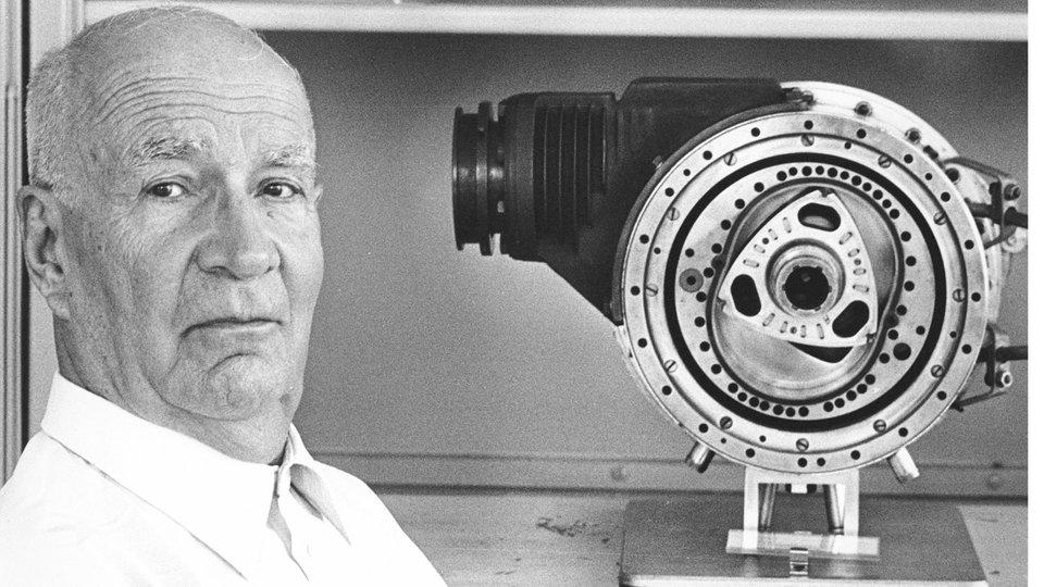 Erfinder Des Drehkolbenmotors