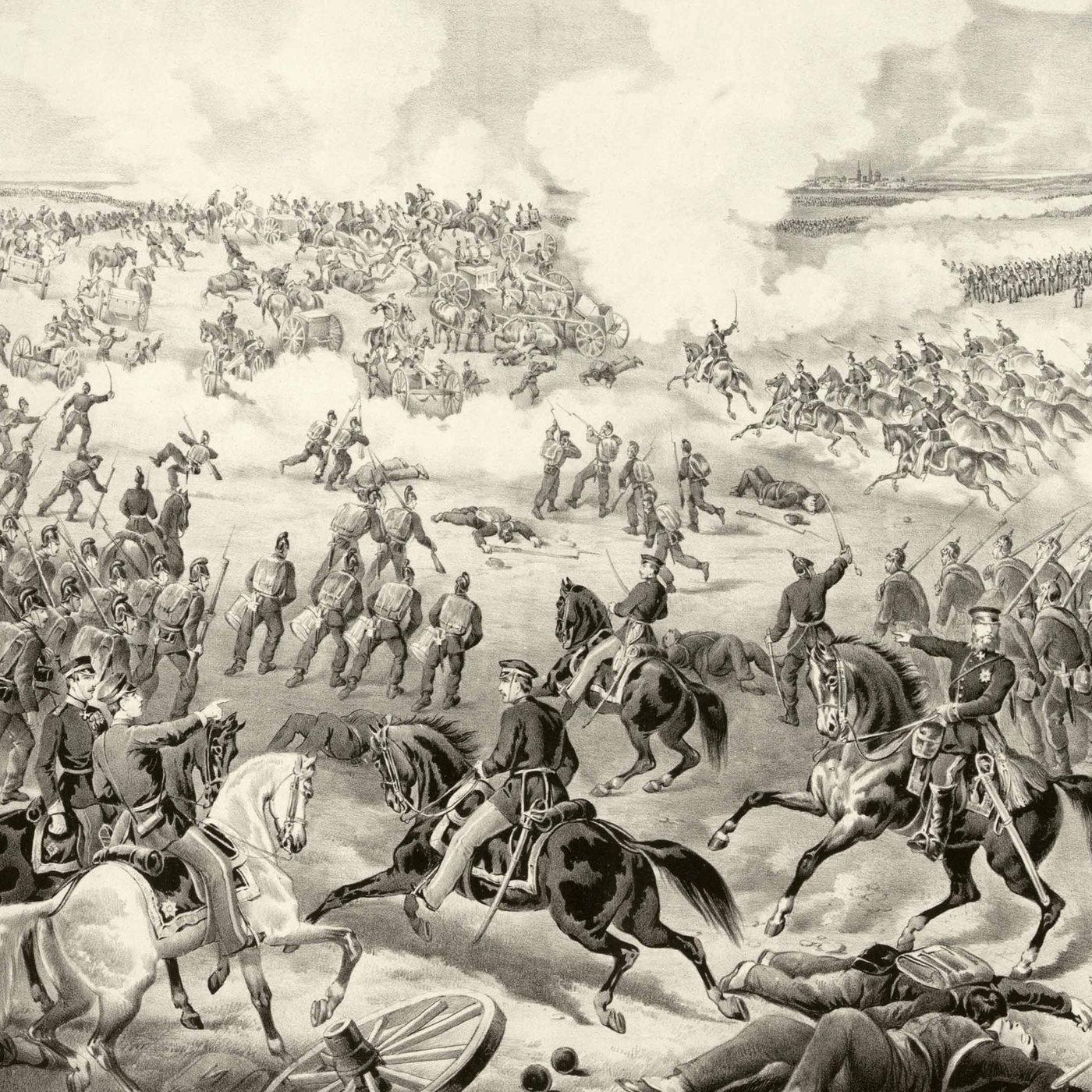 Die Schlacht bei Weißenburg (am 04.08.1870)