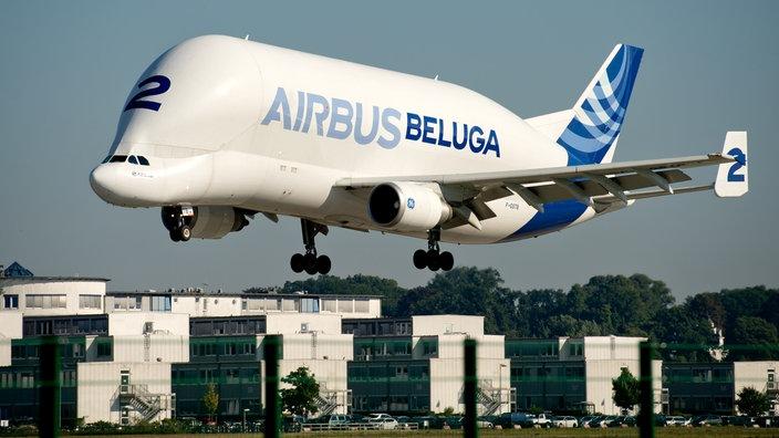 30. November 1994: Erster Beluga Airbus landet in Hamburg