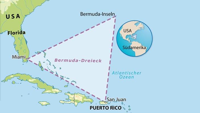 5. Dezember 1945 - Mythos vom Bermudadreieck entsteht