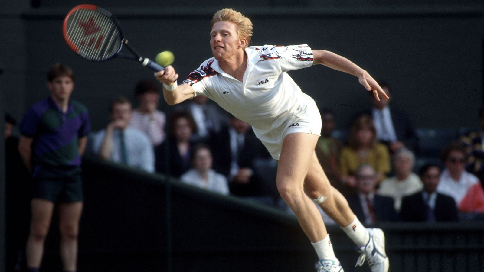 Boris Becker im Match