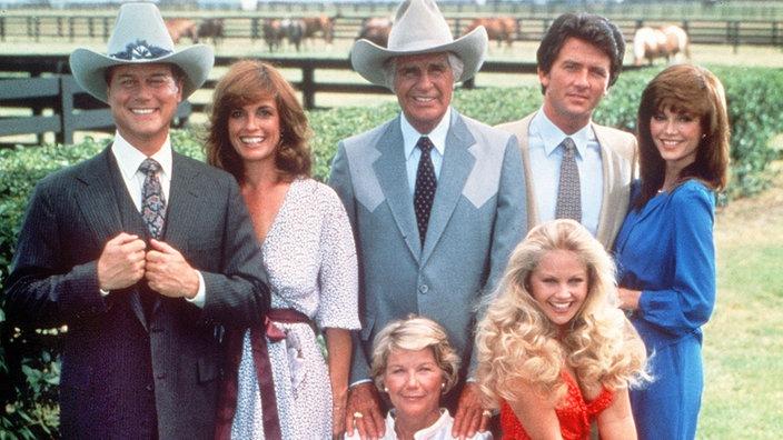 Dallas (Fernsehserie, 1978) Besetzung