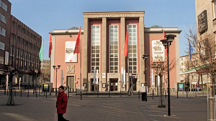 Front des Grillo-Theaters in Essen