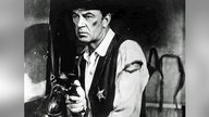 "Gary Cooper als Sheriff Will Kane in ""High Noon"", Szenenfoto"