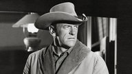 "James Arness als US-Marshal Matt Dillon in der Westernserie ""Gunsmoke"" (""Rauchende Colts"")"