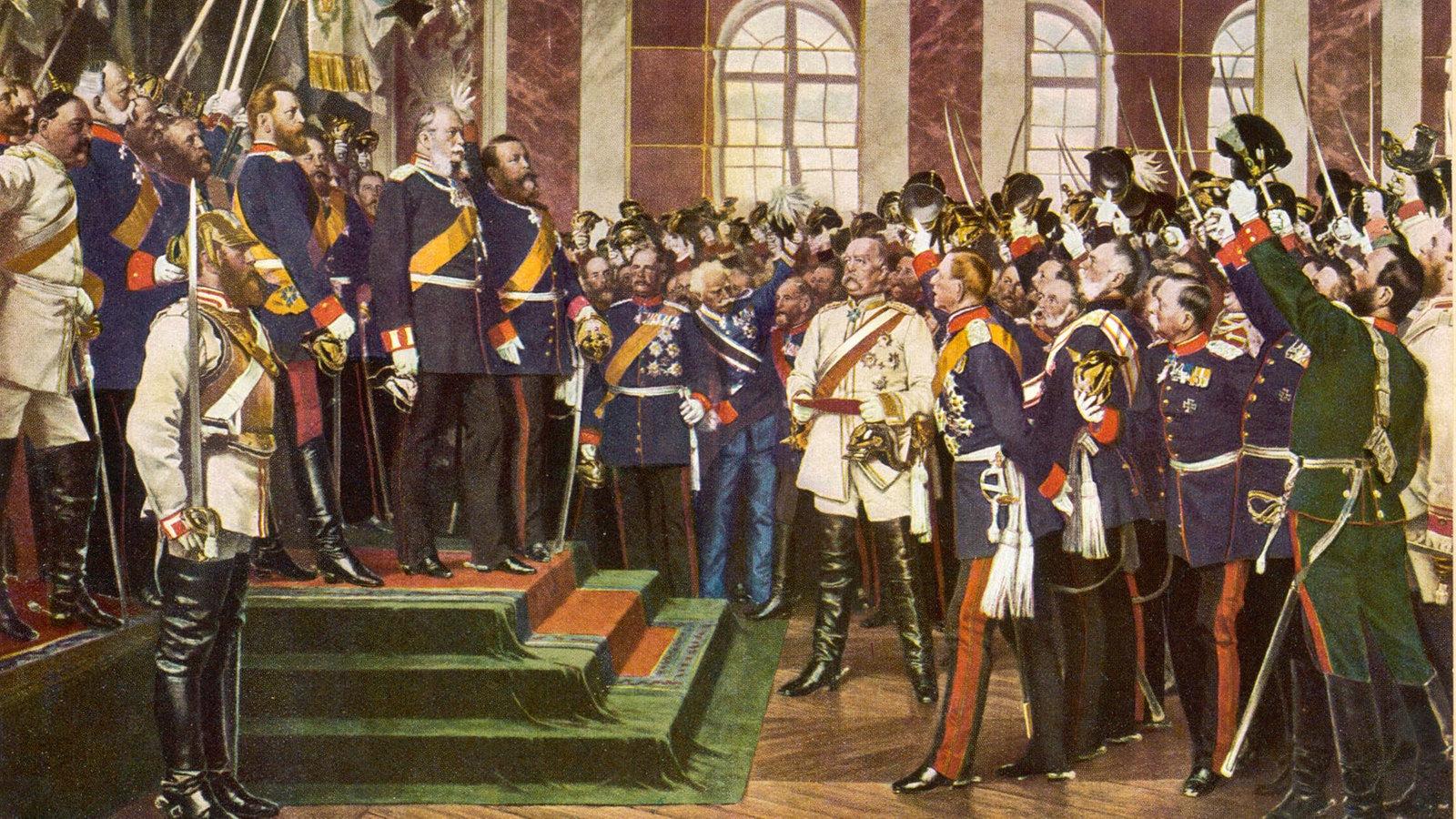 Stichtag - 18. Januar 1871: Wilhelm I. wird in Versailles zum Kaiser  proklamiert - Stichtag - WDR