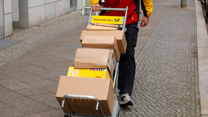 porto päckchen post