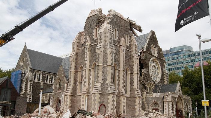 Stichtag 22 02 2011 Schweres Erdbeben Zerstort Christchurch Stichtag Wdr