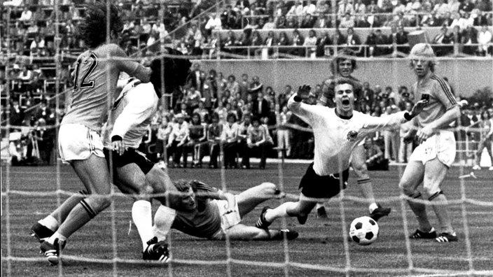 Stichtag 13 Juni 1974 Beginn Der Fussball Wm In Der