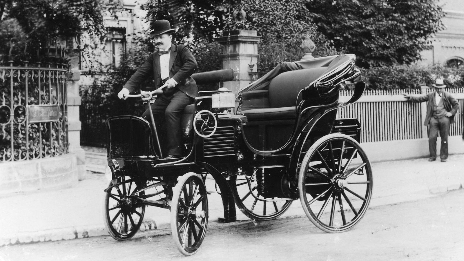 28 Januar 1896 Erste Verurteilung Wegen Zu Schnellen Autofahrens Stichtag Stichtag Wdr