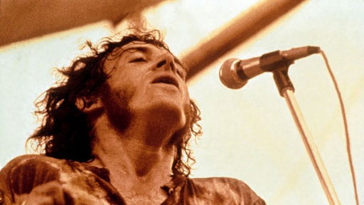 Joe Cocker live beim Woodstock Festival
