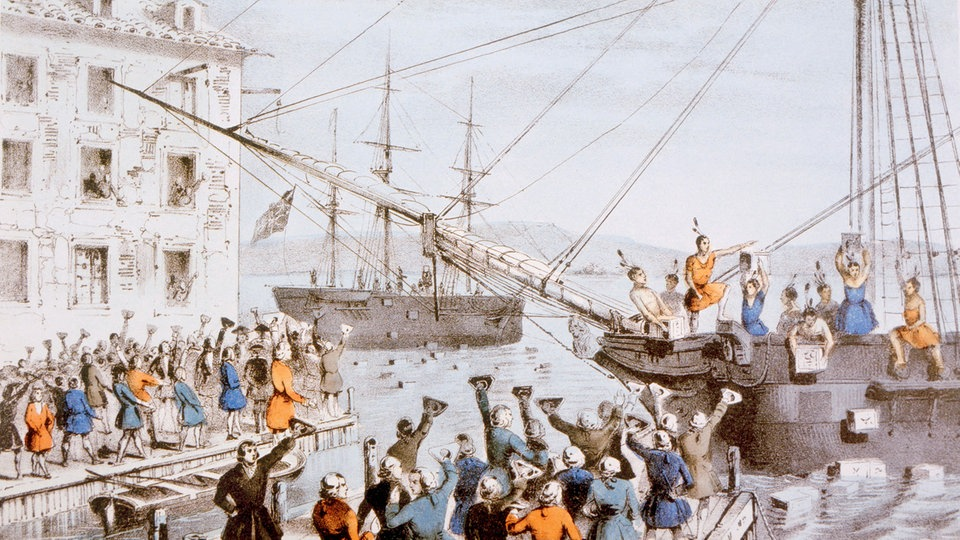 Boston Tea Party Einfach Erklärt