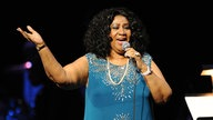 Aretha Franklin Liveauftritt in 2012 im Durham Performing Arts Centert