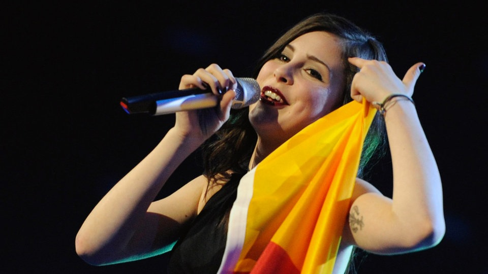 Lena Meyer-Landrut singt beim European Song Contest