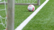 Bald hinter Torlinie