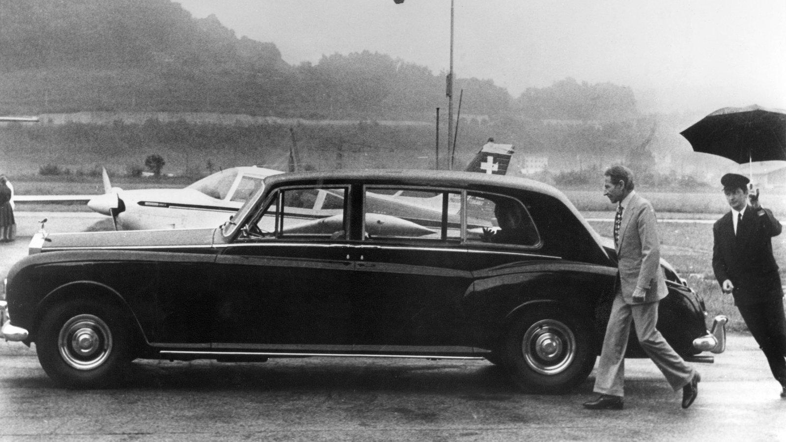Stichtag - 30. November 1987: Kaufhaus-Unternehmer Helmut Horten stirbt