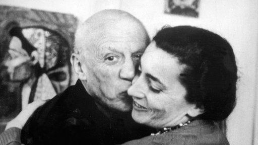 Picasso Jacqueline Roque Jacqueline Und Pablo Picasso