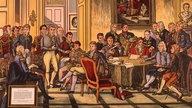 Wiener Kongress 1815 (Schulwandbild)