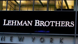 US-Investmentbank Lehman Brothers, New York