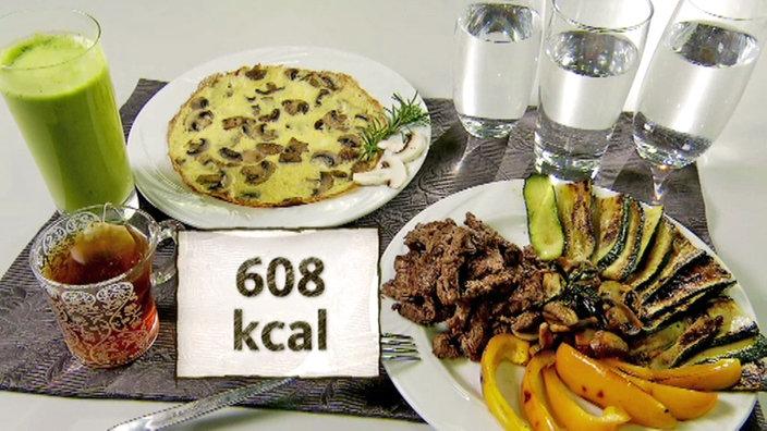 Diät 3000 kcal täglich