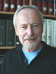 Oberstaatsanwalt Ulrich Maaß in seinem Büro