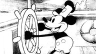 "Micky Maus in ""Steamboat Willie"""