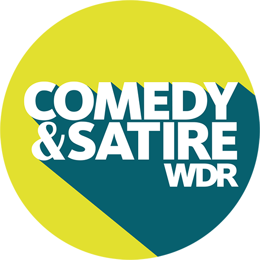 Logo Social Media Button: Comedy & Satire WDR