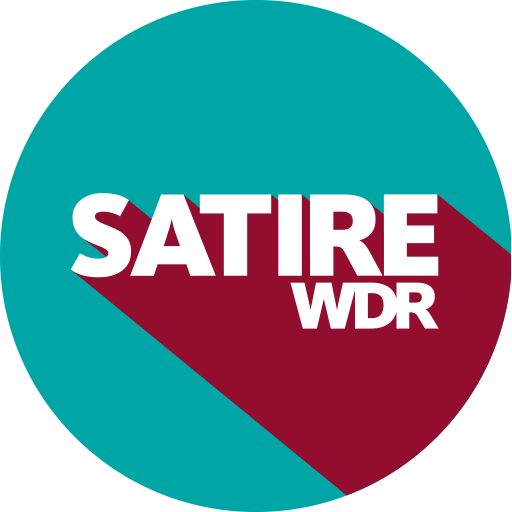 Logo Social Media Button: Satire WDR